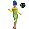 The Simpsons: Marge Deluxe Adult Costume  Plus